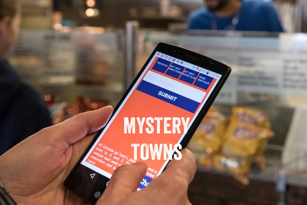 Mystery Towns Launch in Cochrane