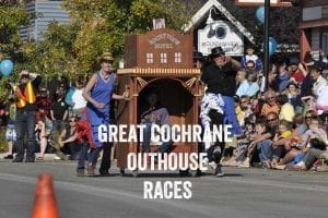 Great Cochrane Outhouse Races
