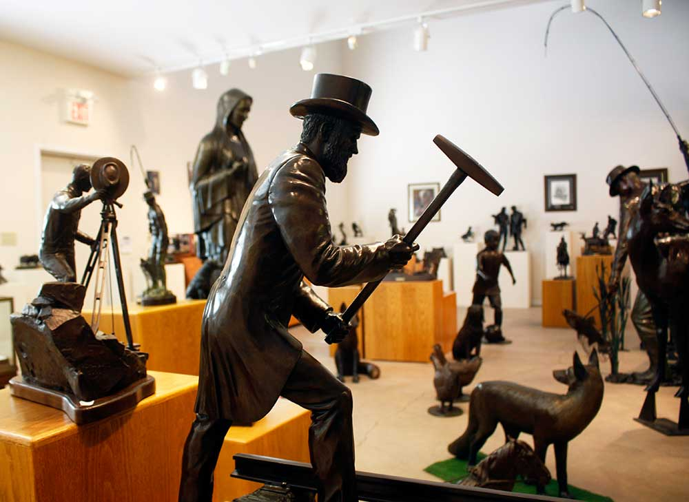 Studio West Bronze Foundry & Gallery Tours