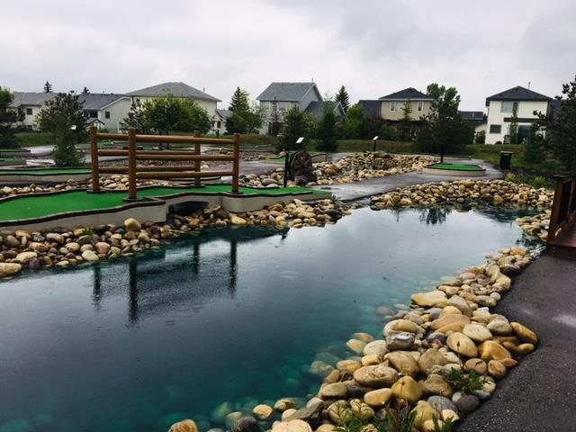 National Mini Golf Day celebrating at Cochrane Golf Club