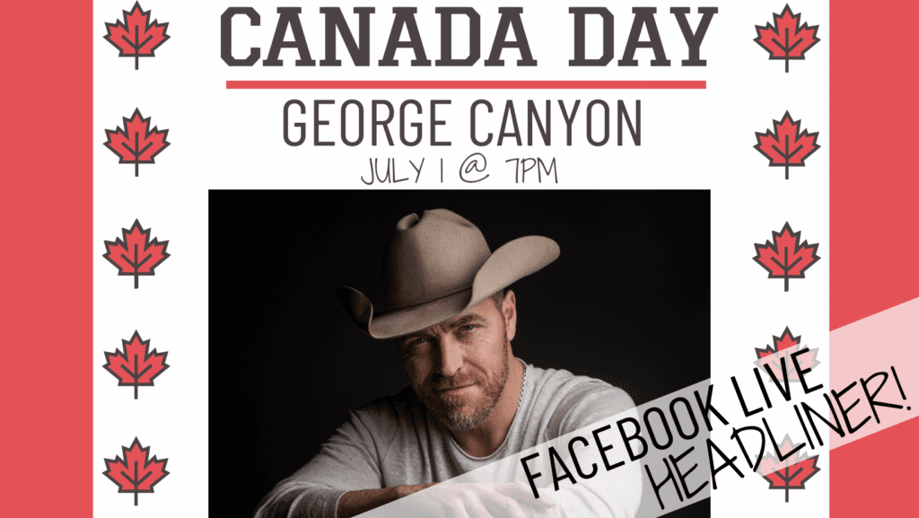 George Canyon Live Facebook Broadcast