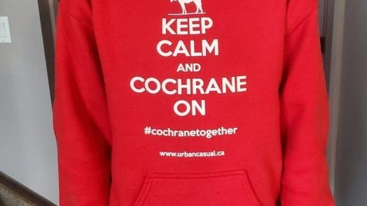 Keep Calm and Cochrane On Sweatshirt