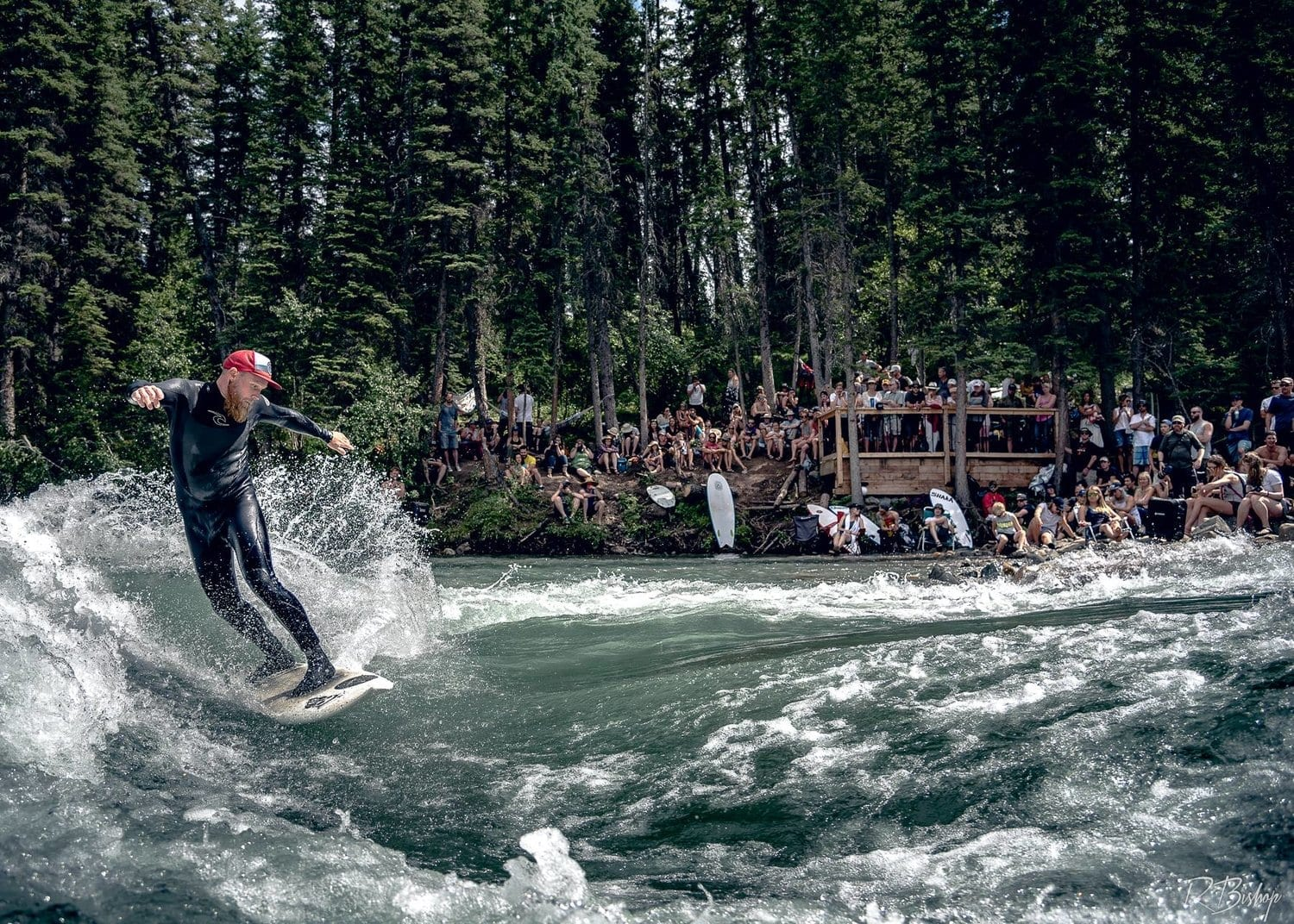 Cochrane River Wave Park example of Mountain Wave facility