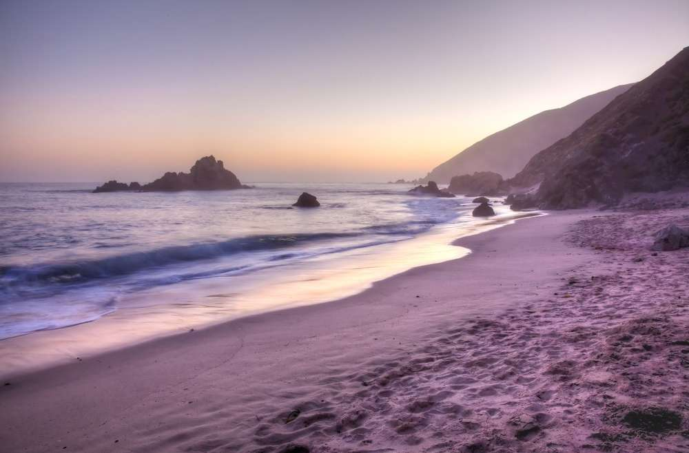 Coloured Beaches of the World