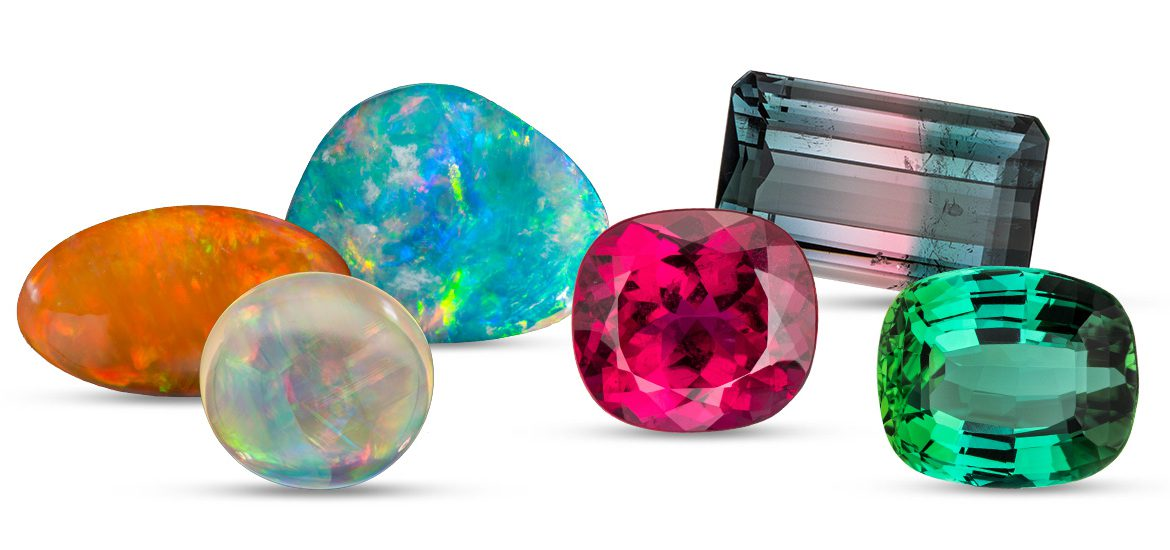 Opals and Tourmalines for October Babies