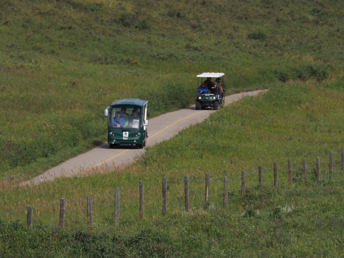 GRPF Golf Cart Tours & Bike Tours are Back!